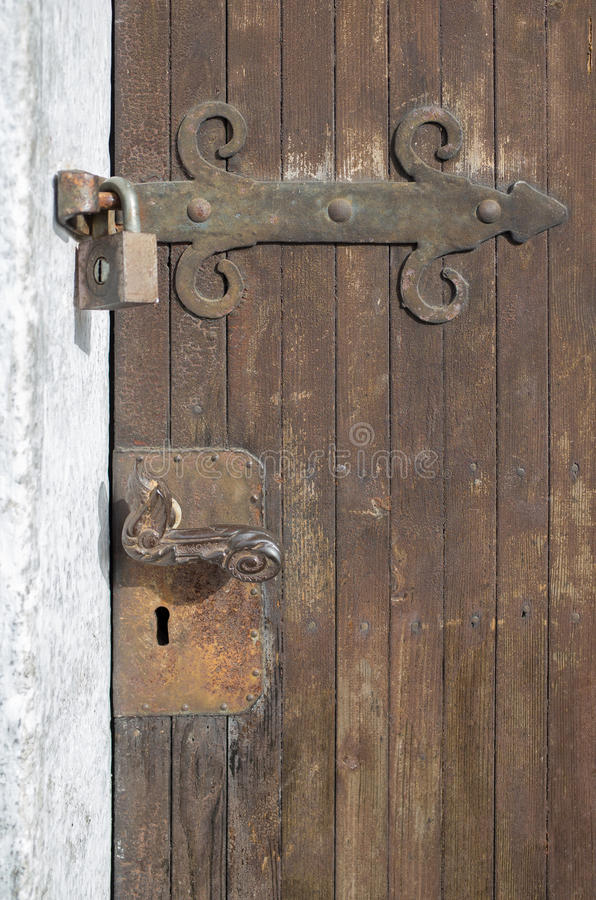 locked fotografia stock