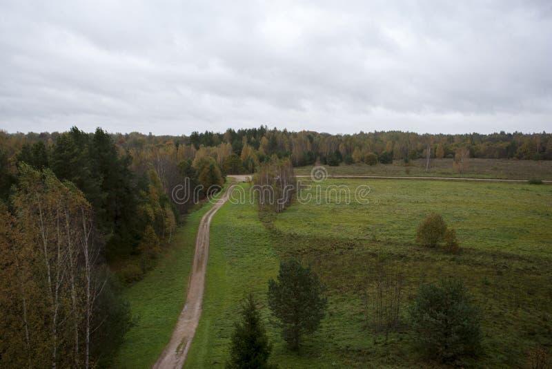Locked autumn stock image