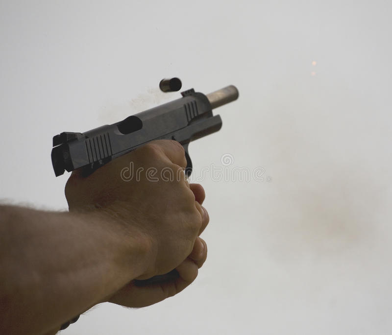 Download Locked back stock photo. Image of shell, eject, shooting - 27080472