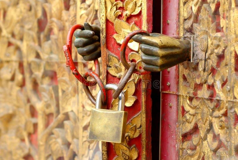 Locked chave imagens de stock