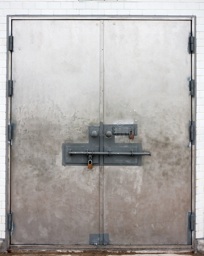Download Locked Doors Stock Photo - Image: 8362310