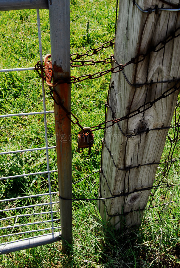 Locked Out No Trespassing