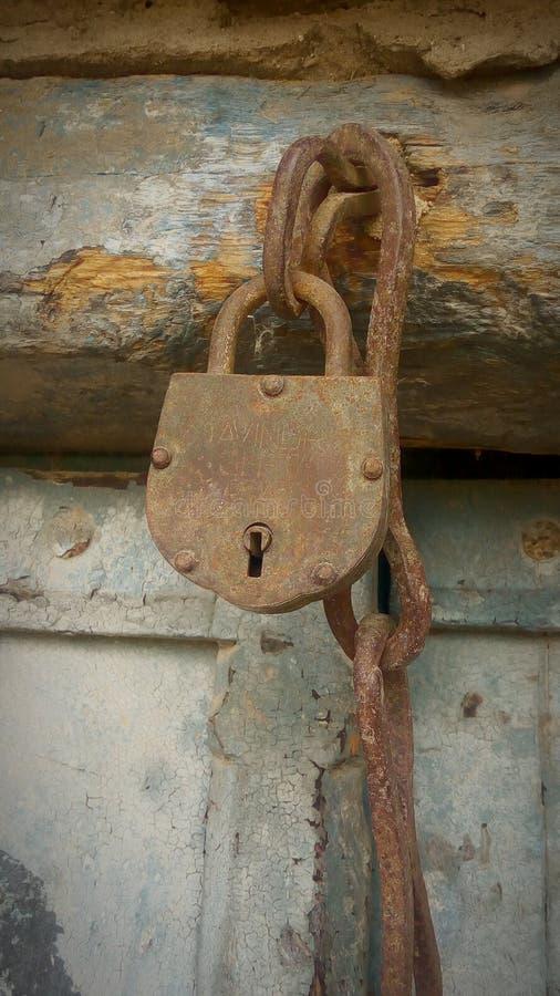 Locked room with lock stock photos