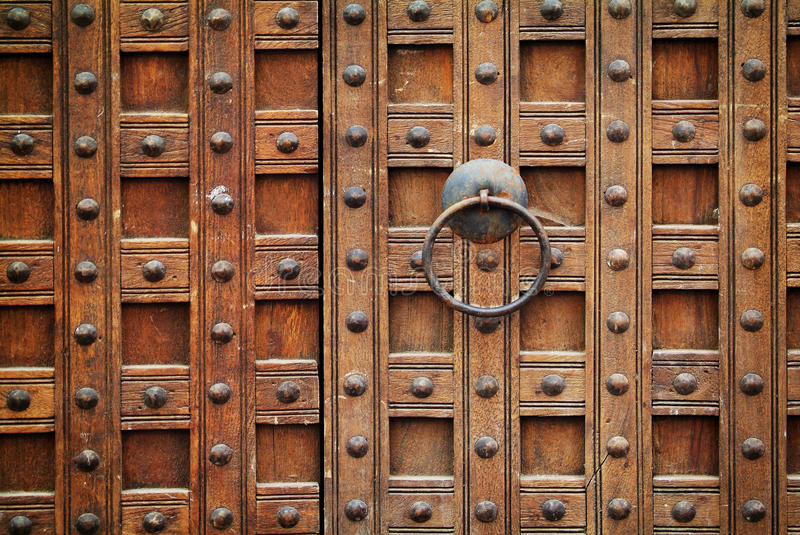 Download Locked wooden gate stock photo. Image of rough, gate - 31307700