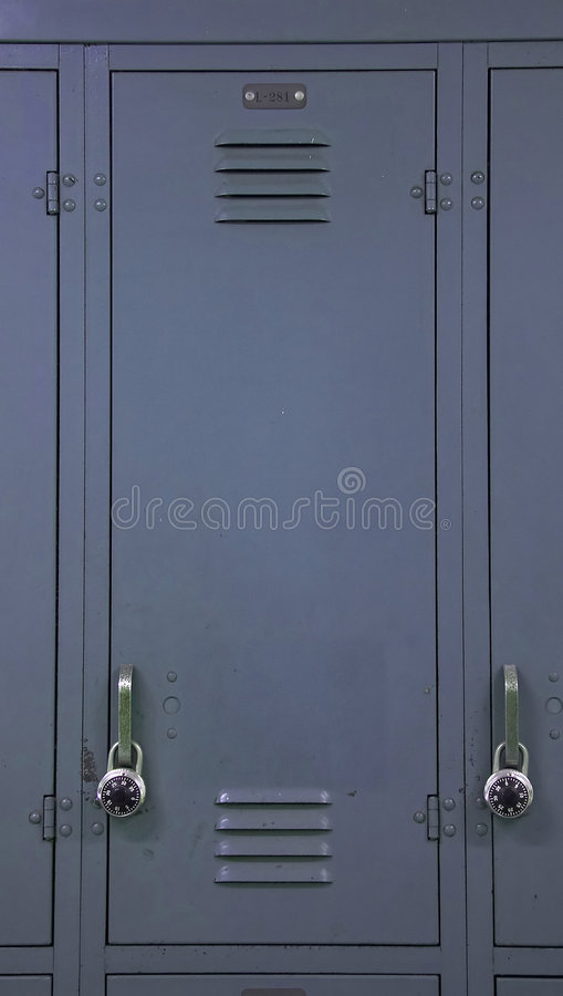 Download Locker 2 stock image. Image of books, security, gray, grey - 670501