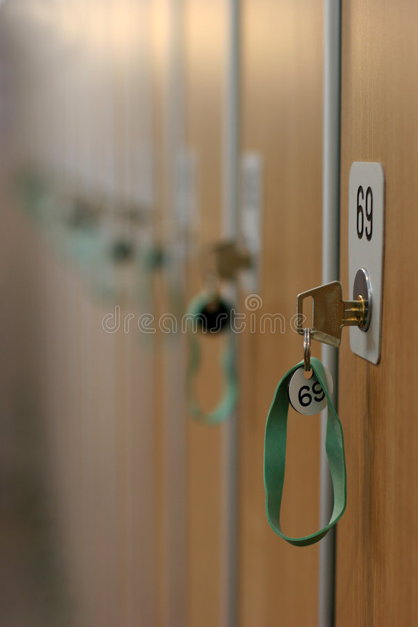 Locker 69 royalty free stock image