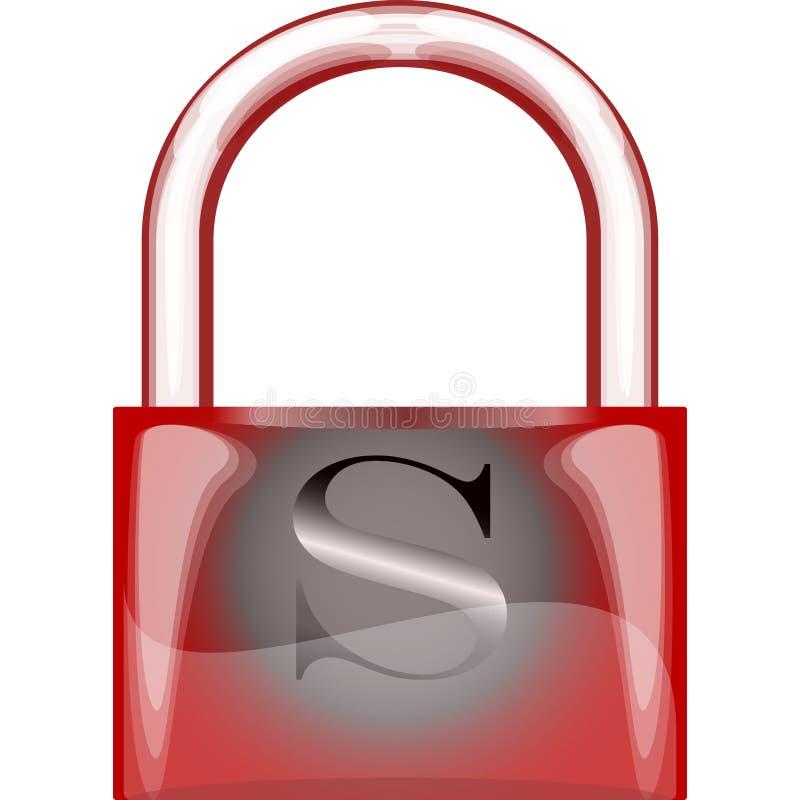 Locker isolated on white stock illustration