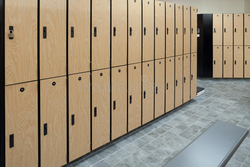 Locker Room. As found at a nice gym, club, college or school