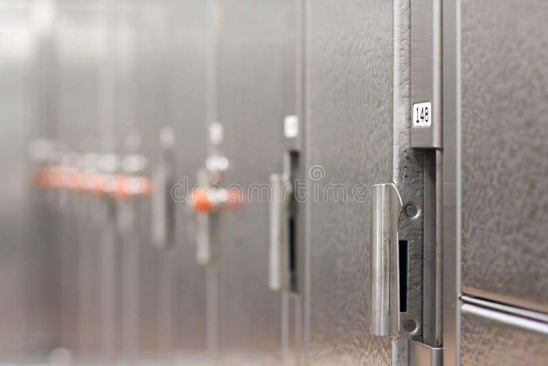 Locker room stock images