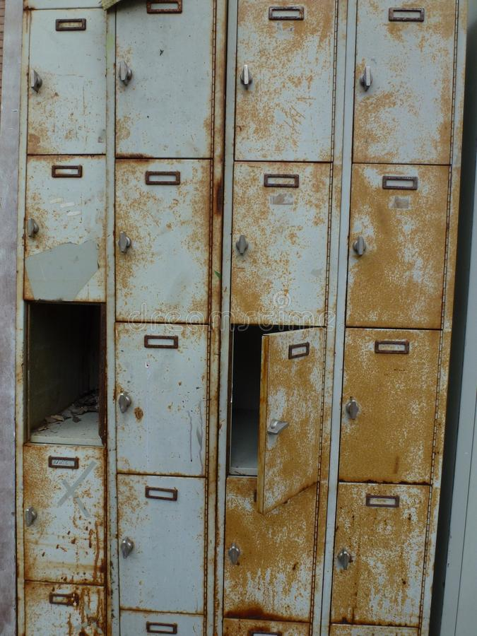 Locker, Wood, Wood Stain, Furniture royalty free stock images