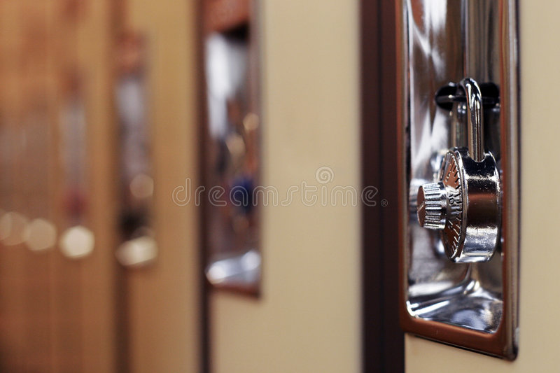 Download Lockers stock photo. Image of blur, education, object, school - 112810