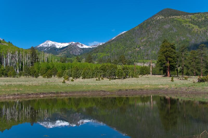 Lockett Meadow stock image