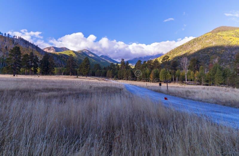 Lockett Meadow Flagstaff, AZ photographie stock