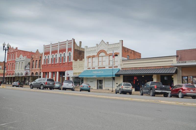 Lockhart Texas. Old part of Lockhart, Texas stock photos
