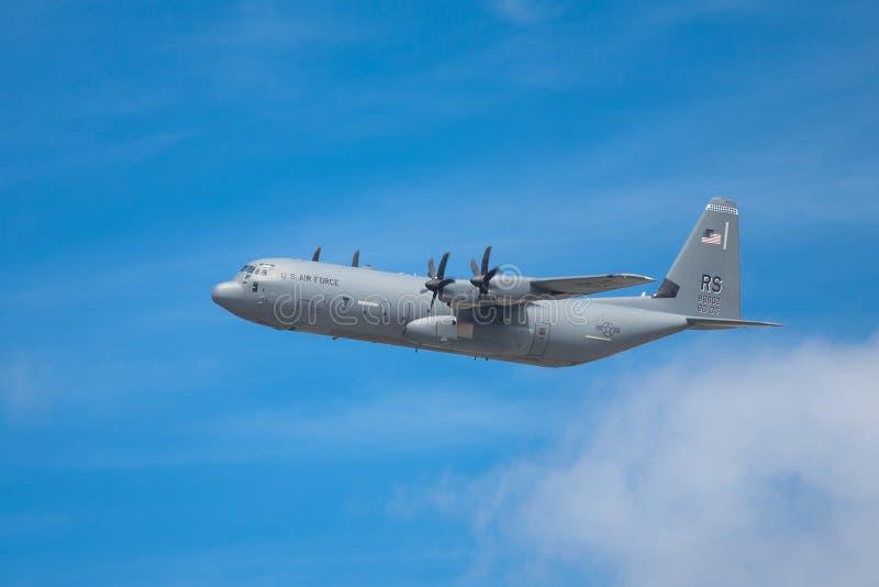 Lockheed C-130 Hércules foto de archivo