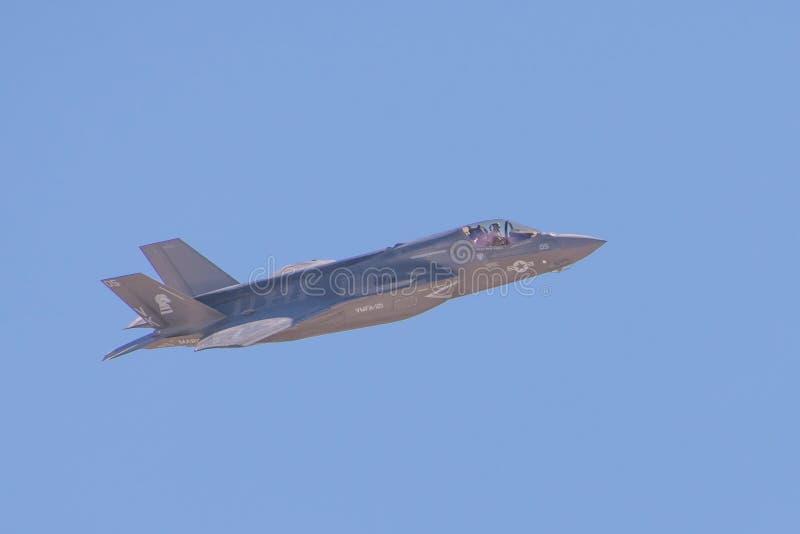 Lockheed Martin φ-35 αστραπή ΙΙ στοκ φωτογραφία