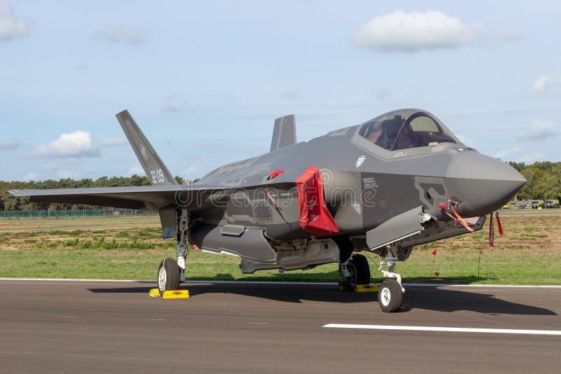 Lockheed Martin F-35 Lightning II fighter jet plane stock photos