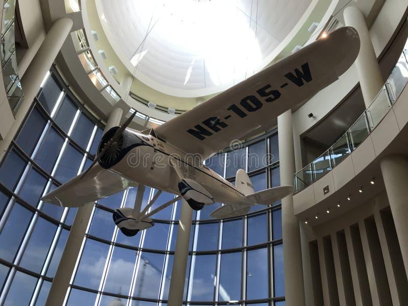 Lockheed Model 5B Vega `Winnie Mae,` Single Engine Aircraft royalty free stock photo