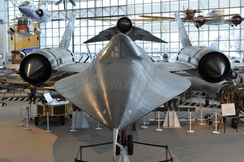 Lockheed SR-71 Blackbird Editorial Photography