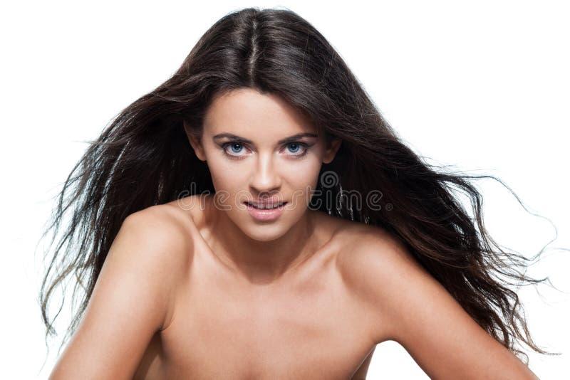 Lockigt hår royaltyfri bild