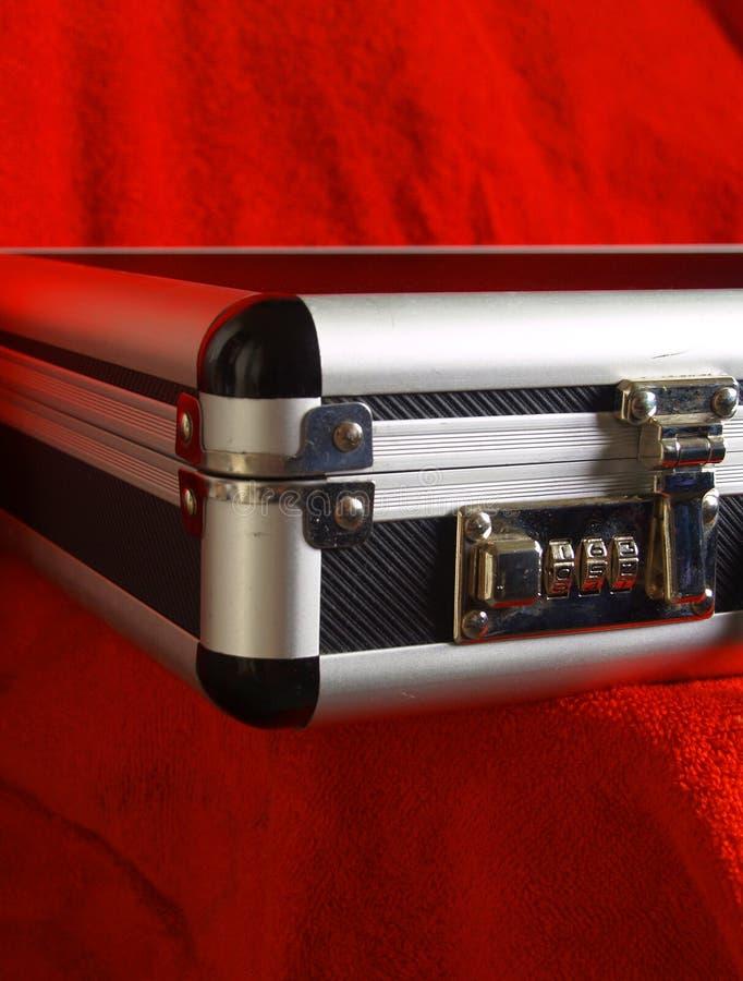 Locking Briefcase stock photo