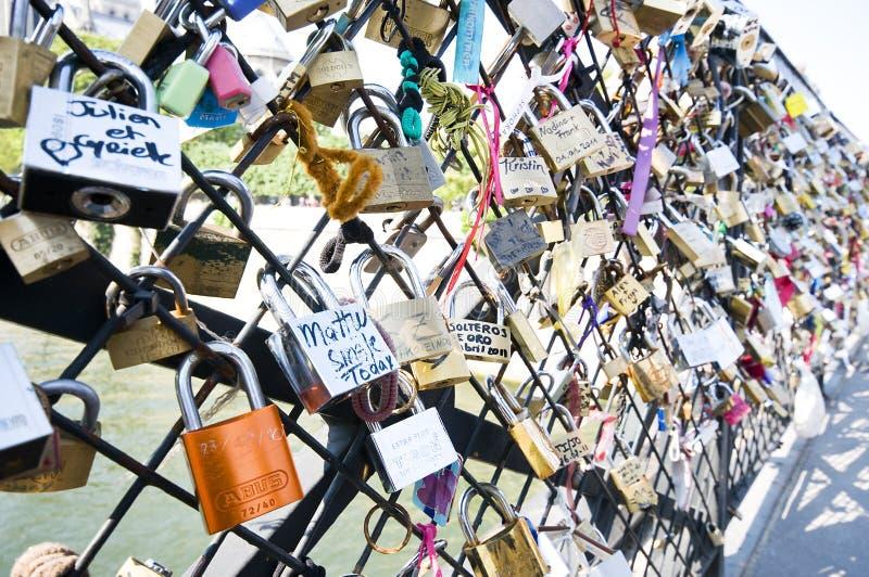 Download Locks on bridge editorial stock photo. Image of arts - 19858283