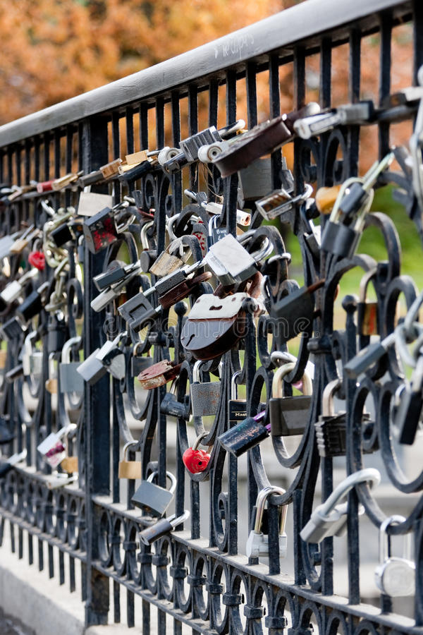 Download Locks on a grille stock photo. Image of secure, blurred - 11189134