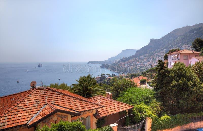 Locksvala och Monaco arkivbilder