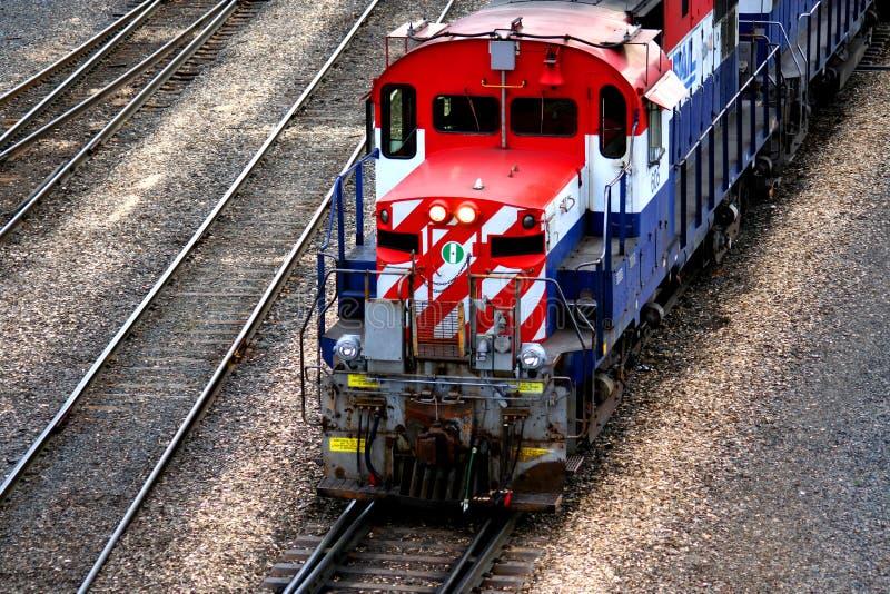 Download Locomotief stock afbeelding. Afbeelding bestaande uit vracht - 292581