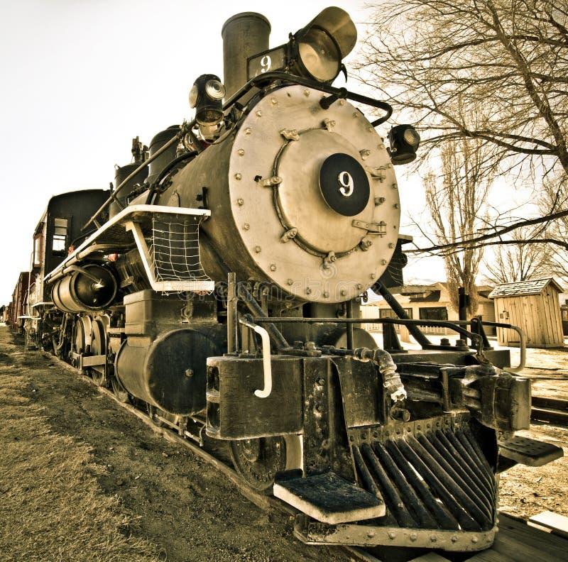 Locomotiva 9 imagens de stock