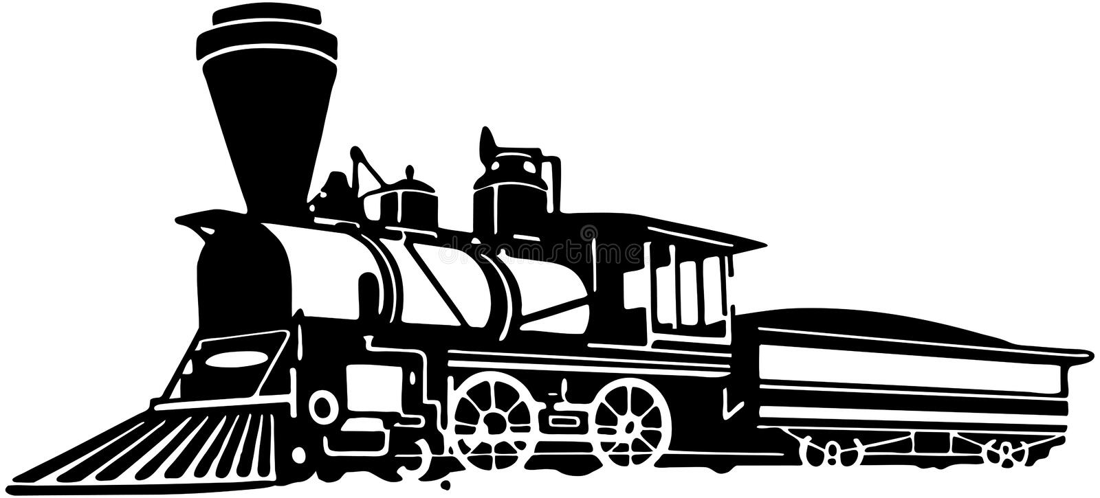 locomotiva illustrazione di stock