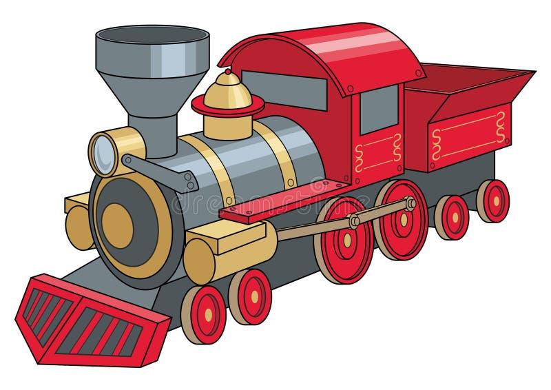 locomotiva ilustração stock