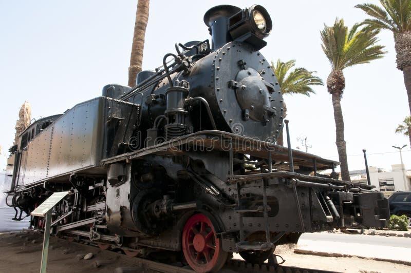 Locomotiva - Arica - Cile immagini stock