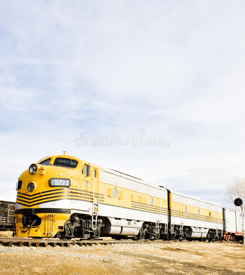 Locomotiva de diesel fotos de stock royalty free