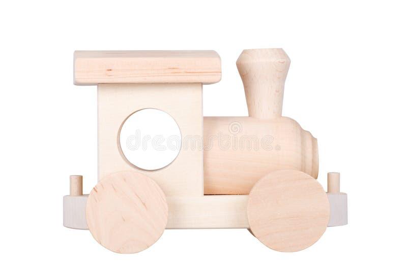 Locomotiva de madeira imagem de stock