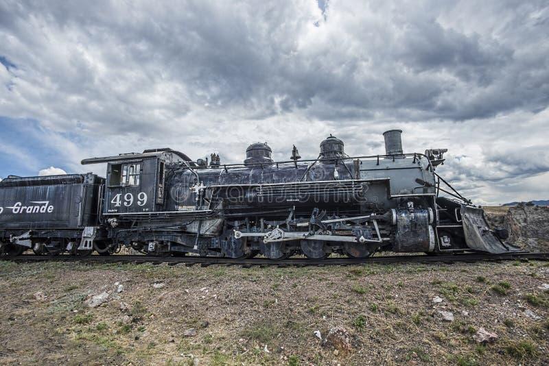 Locomotiva de Rio Grande, trem fotografia de stock