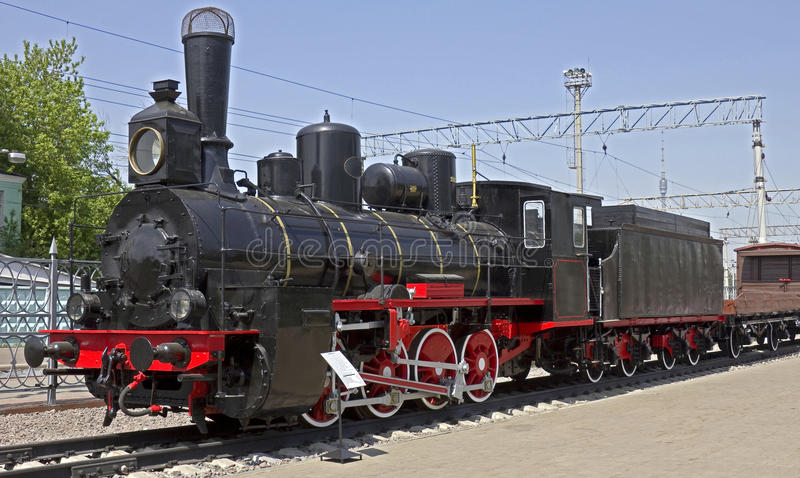 Locomotiva de vapor 1 imagens de stock royalty free