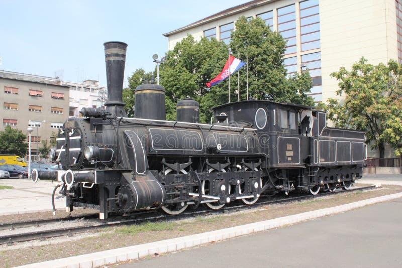 Locomotiva de vapor velha fotos de stock