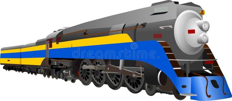 locomotiva di vapore fotografie stock libere da diritti