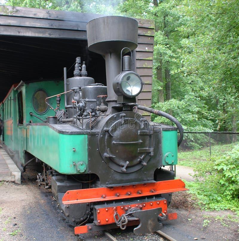 Locomotiva di vapore antica fotografia stock libera da diritti