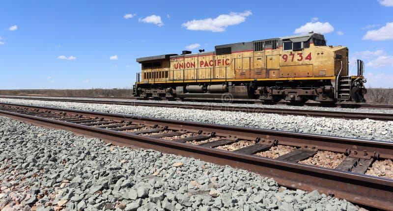 Locomotiva do Pacífico da união foto de stock