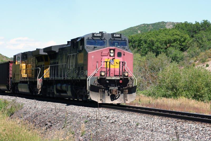 Locomotiva do Pacífico da união imagens de stock