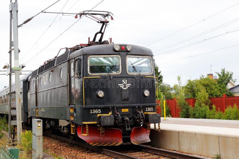 Locomotiva elétrica fotografia de stock