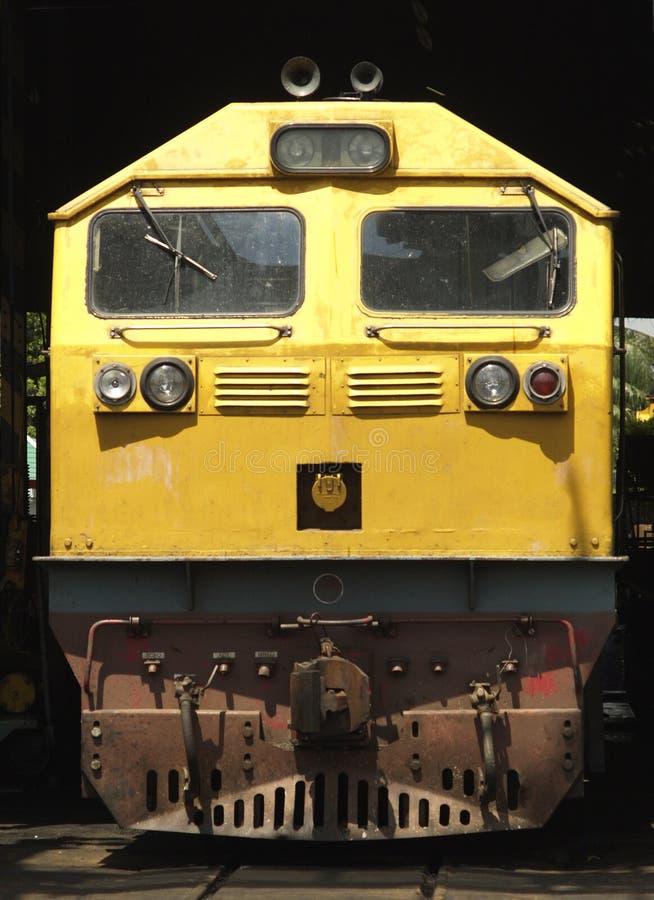 Locomotiva elétrica do diesel fotos de stock