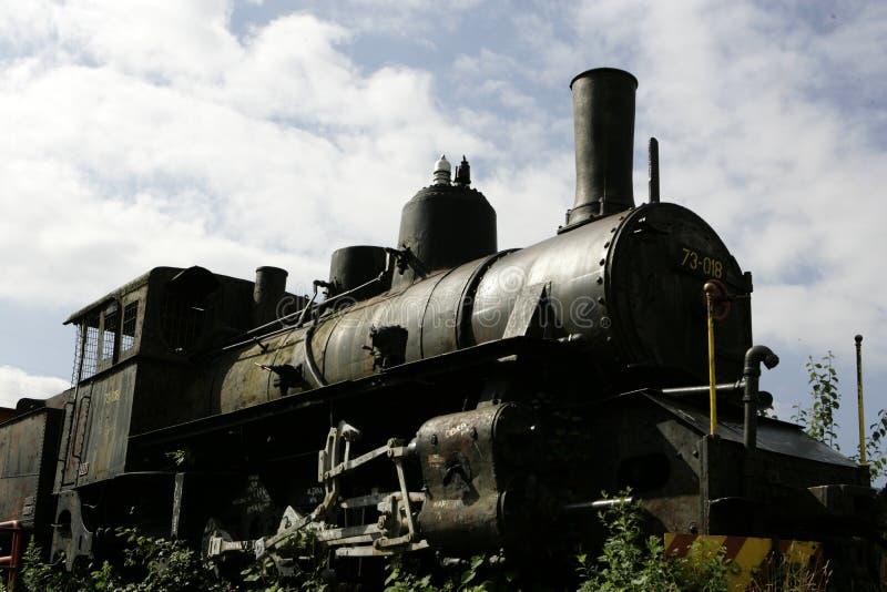 Locomotiva velha fotografia de stock
