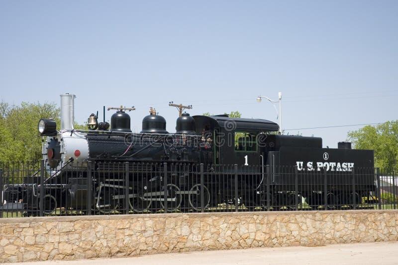 Locomotive à vapeur photographie stock libre de droits
