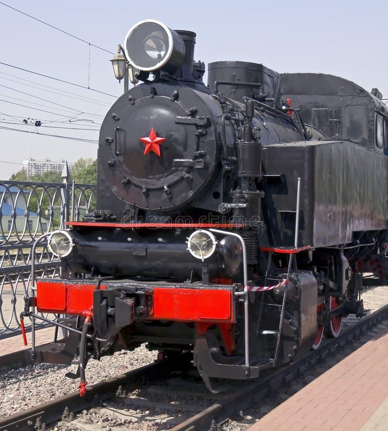 Locomotive à vapeur 6 images stock