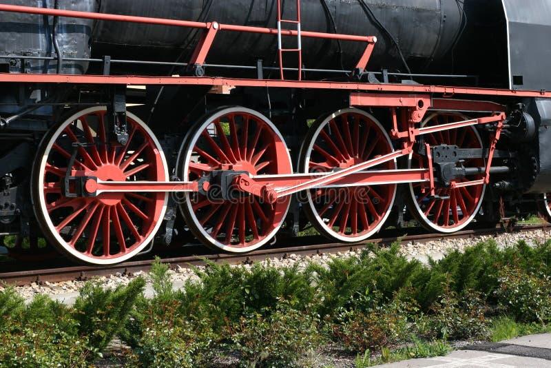 locomotive à vapeur de cercle photos stock