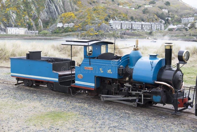 Locomotive à vapeur de mesure étroite d'héritage image libre de droits