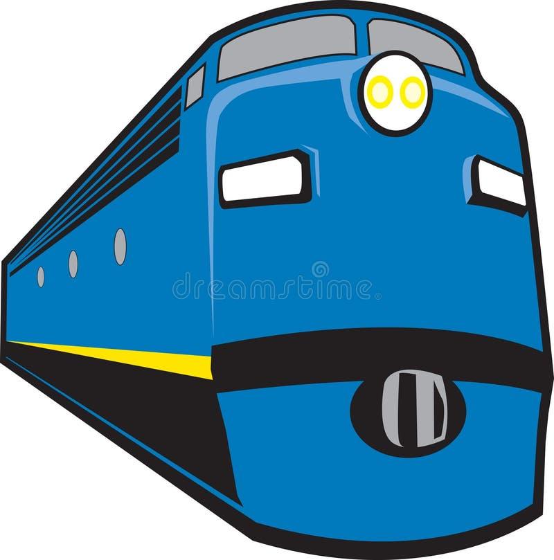 Locomotive illustration libre de droits